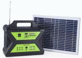 10W beweglicher Hauptsolar-PV Panel-Energie-Energien-Beleuchtung-Installationssatz