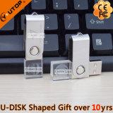 선전용 선물 (YT-3270-06)로 자전 수정같은 USB 펜 드라이브