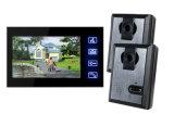 Домашняя обеспеченность оборудует систему внутренней связи дверного звонока видео- телефона двери видео-