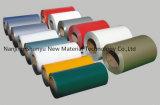 Bobina de aço revestida cor/aço Prepainted para o mercado de Jamaica