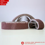 Courroie de sablage abrasive pour le polonais de l'industrie d'acier inoxydable et de meubles