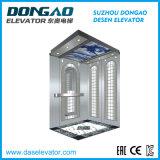 630kg con l'ascensore per persone dell'acciaio inossidabile di disegno del portello dello specchio