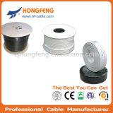 75 câble coaxial de liaison normal de l'écran protecteur RG6 de la télécommunication CATV d'ohm