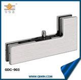 Collier d'angle Charnière de porte en aluminium Serrure de porte en verre