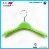 Miúdos Eco-Friendly plásticos coloridos verde/ganchos superiores das crianças