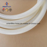 Tubo flessibile Braided a fibra rinforzata del silicone del commestibile