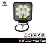 Lámpara campo a través del trabajo de Hotsale 4X4 27W LED con la viga de la inundación o de punto