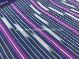 Spandex Fabric-Lz8554 della banda tinto spazio del cotone