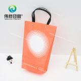 Impresión de papel colorido bolsa de regalo hecha de papel especial
