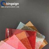 Fuente de acrílico Glittering multicolora brillante de la fabricación de la hoja