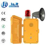 Telefone de emergência de túnel, telefone à prova de intempéries sem fio, telefones sem fio subterrâneos