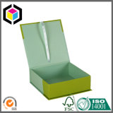 Цветастая коробка подарка бумаги рождества картона формы перчаток