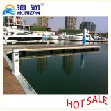Dock flottant de vente d'acier inoxydable de pouvoir de poteau d'amarrage chaud de service/marina
