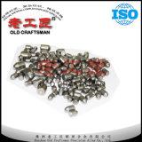 Dents crêtées de burin de cale du carbure cimenté Ys2t de tungstène