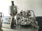 Semi Auto Fical Produto cosmético Creme Tubo Plástico máquina de enchimento e selagem