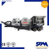 Trituradora de quijada móvil de la piedra de la promoción de la fábrica de China