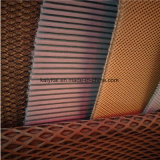 Tela de estiramiento hecha punto poliester del acoplamiento del aire para los bolsos