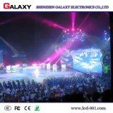 La publicidad al aire libre de interior del alquiler de P3.91 P4.81 fijada instala la pantalla de visualización video del panel del LED para el uso de la etapa
