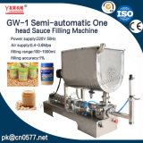 Una máquina de rellenar neumática semiautomática de la goma principal de la salsa (GW-2)