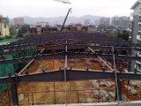 高力鉄骨構造のプレハブの倉庫