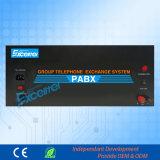 높은 안정성 중앙 전화 교환기 8 버튼식 전화기 연장 176 정규 확대 16 CO 선 큰 수용량 PBX