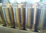 Les équipements de stations de gaz de réservoir en laiton vanne inférieure