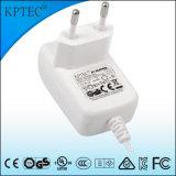 Fuente de alimentación de la conmutación de 9V / 1A / 9W AC / DC, adaptador de la energía con GS y certificado de Ce
