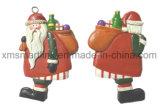Giften van de Decoratie van het Beeldje van de Kerstman van de hars de Hangende