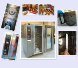 Forno elétrico da conveção segura da bandeja do desempenho 10 para a fábrica da padaria