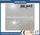 二重上塗を施してあるRal9003はAluzincの鋼鉄コイルをPrepainted