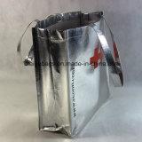 習慣の金属ラミネーションが付いている非編まれたショッピング・バッグ、