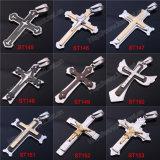 Heißes Verkaufs-Edelstahl-Bibel-Kreuz-hängende Halskette, Edelstahl-Kruzifix (st00000)