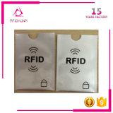 Low Price Aluminium Foil RFID Blocage Carte de crédit Protector Sleeve