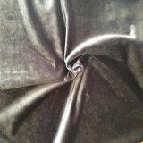 Tapicería 100% Poliéster Tela de terciopelo de seda en Haining