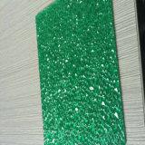 Folha gravada policarbonato protegida UV
