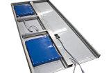 Neue 80W Bewegungs-Sensor-Solar-Straßenlaterne alles in einem mit Fabrik-privater Form