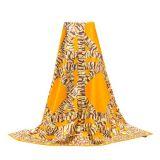 Entwurfs-Digital gedruckten quadratischen Silk Schal für Damen anpassen