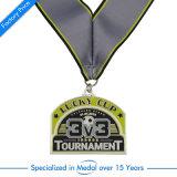 Médaille de souvenir sur mesure personnalisée de souvenir avec ruban