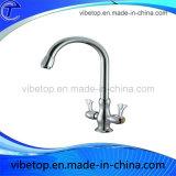 Robinet de robinet / robinet / robinet mélangeur / robinet d'évier en laiton acier inoxydable chromé