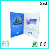 Geschäft in Scheckkartengröße LCD-videogruß-Broschüre