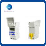 Interruptor programável Thc 15A do temporizador de Digitas LCD para a venda quente da C.A. 220V da C.C. 110V