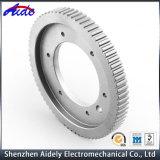Kundenspezifischer Aluminiummetalteil CNC, der für Elektronik maschinell bearbeitet