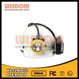 Lampada approvata della testa di sicurezza dei minatori del Ce 28000lux Kl12ms-02 LED di Wisom Atex