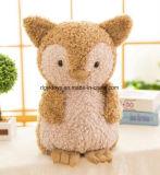 Nouveau design jouet en peluche charmant Owl farcies avec du coton vers le bas