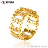 Der 13583 Formzircon-überzog oraler Lippenentwurfs-Schmucksache-Finger-Ring im Gold 24k