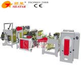 Doppelte Zeilen flacher Stern-Dichtungs-Abfall-Beutel, der Maschine 440PCS/Min herstellt