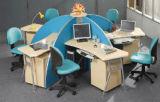 Mobília de escritório modular moderna da divisória da estação de trabalho