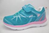 Chaussures occasionnelles supérieures de Runing de sports de maille respirable pour des gosses