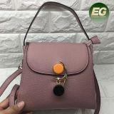 Prodotto promozionale Emg5043 della borsa del reticolo della pianura del sacchetto di spalla della signora Handbag Real Leather dell'ufficio di alta qualità