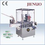 まめのコンドームの磨き粉の袋のための自動薬剤のカートンに入れる機械装置